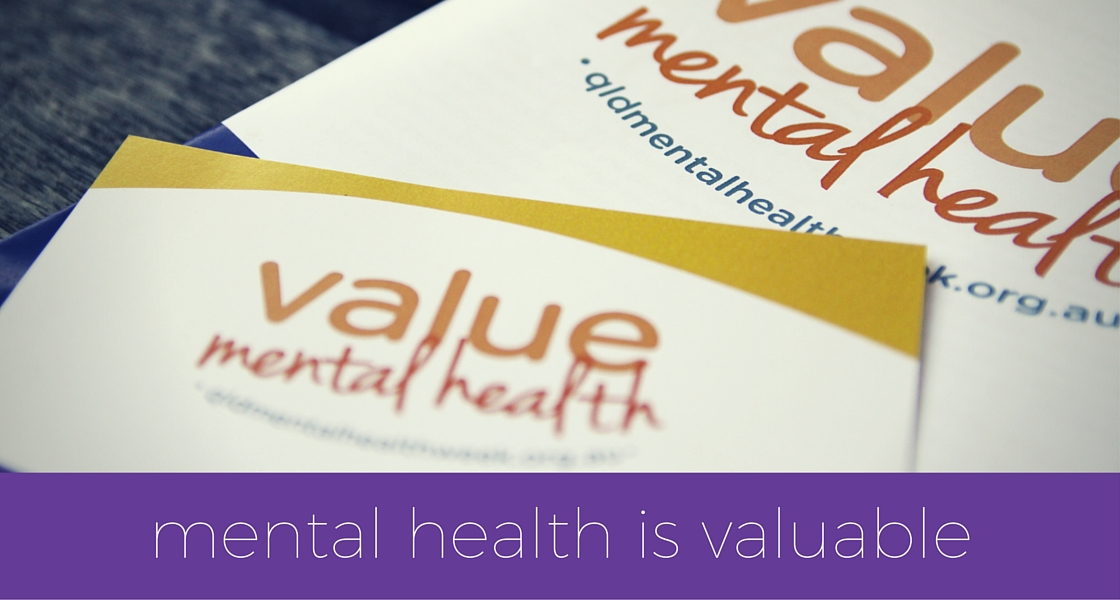 Mental health is valuable