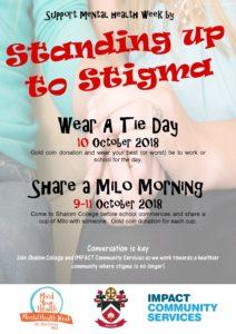 Qld Mental Health Week Flyer Tie Milo Pdf Queensland Mental Health