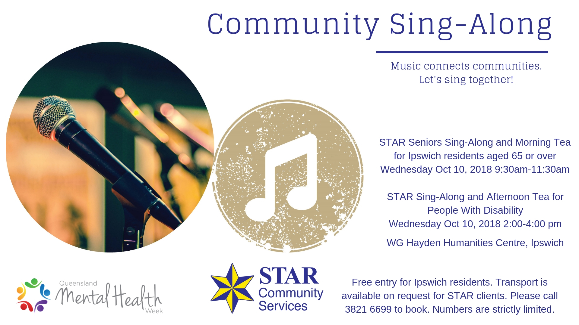 STAR Community Sing-Along