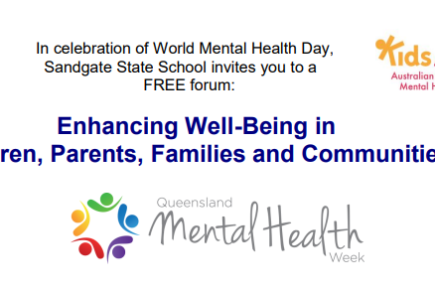 Enhancing wellbeing forum Sandgate