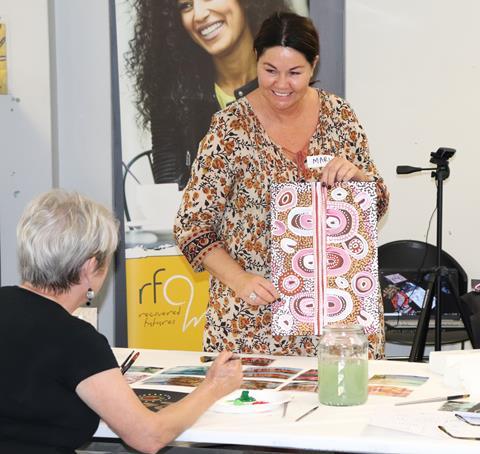 A workshop held by Richmond Fellowship Queensland